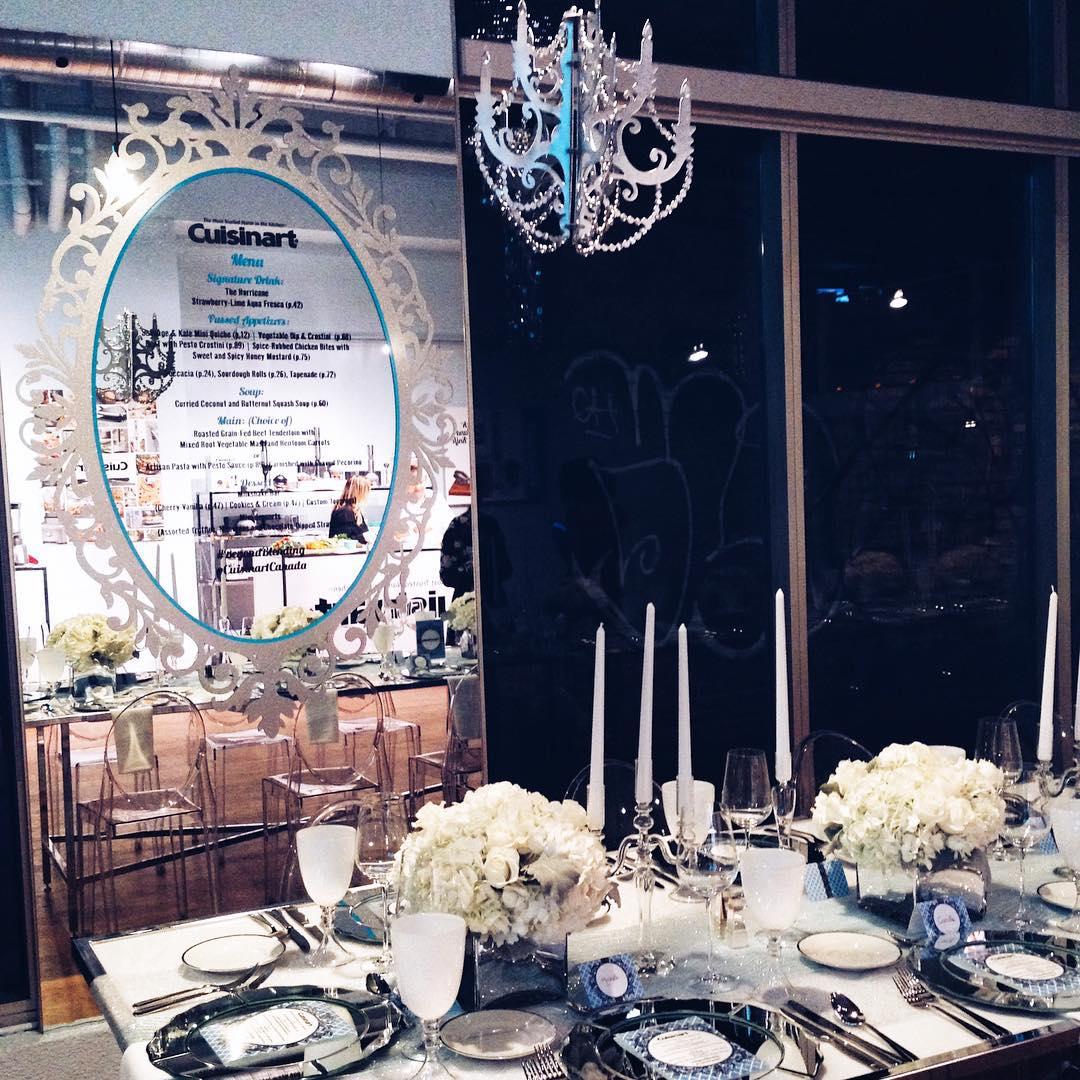 A WinterWonderland inside therichmondto tonight for cuisinartcanadas BeyondBlending event