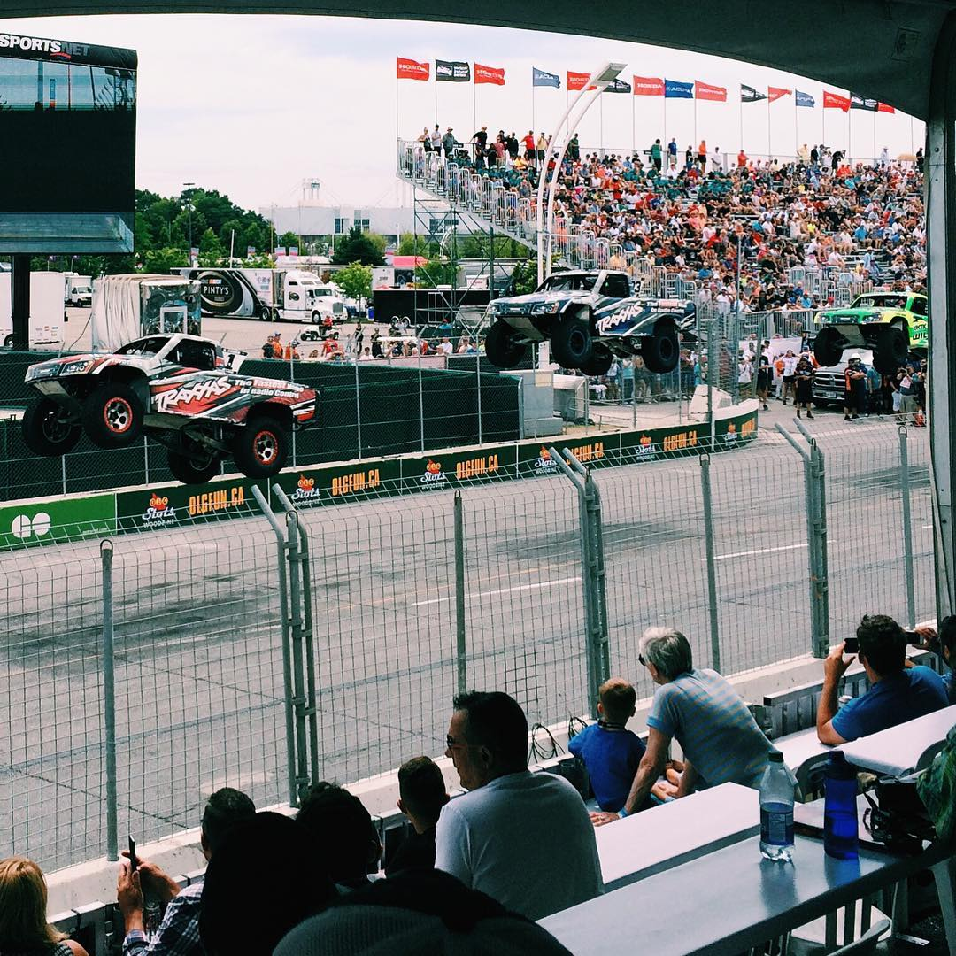And they were off at the indyto yesterday