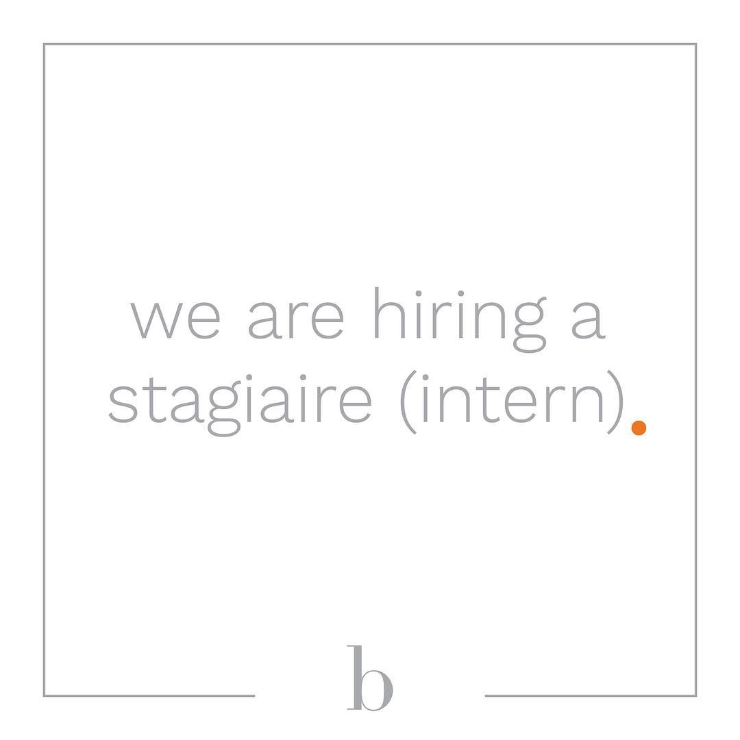 We are currently looking for a savvy and forwardthinking internhellip
