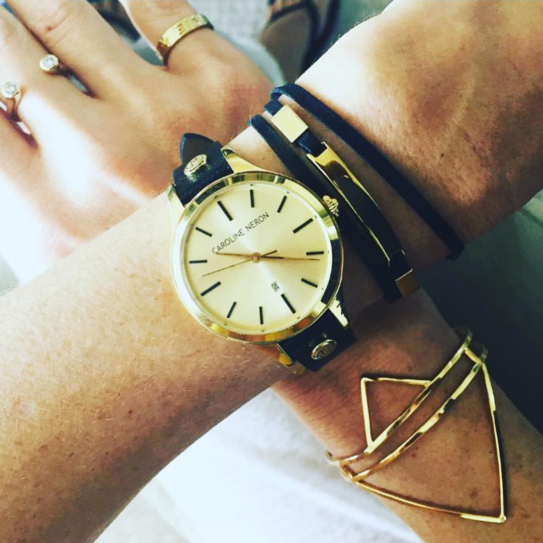 Its almost time for the weekend! Tick Tock wearing carolineneronhellip