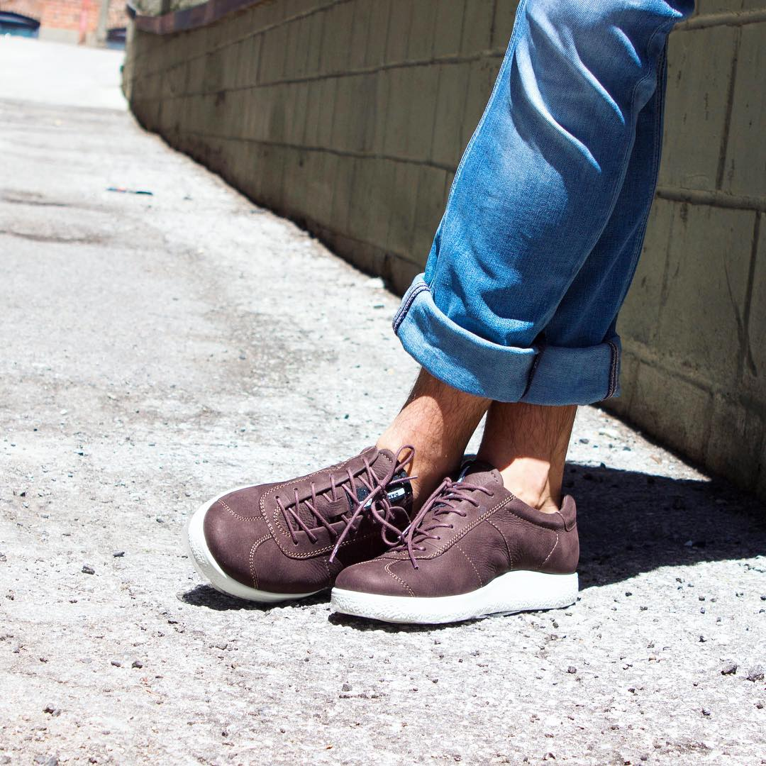 Leaning into the weekend with sneakers
