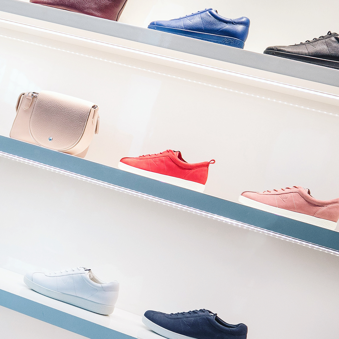 First stop the newly opened eccoshoes flagship store at Yorkdalehellip