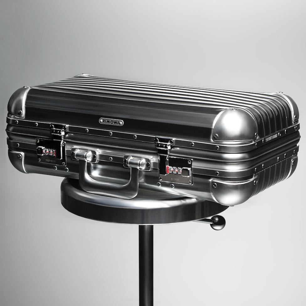rimowa is celebrating 80 years of their iconic aluminum luggage!hellip