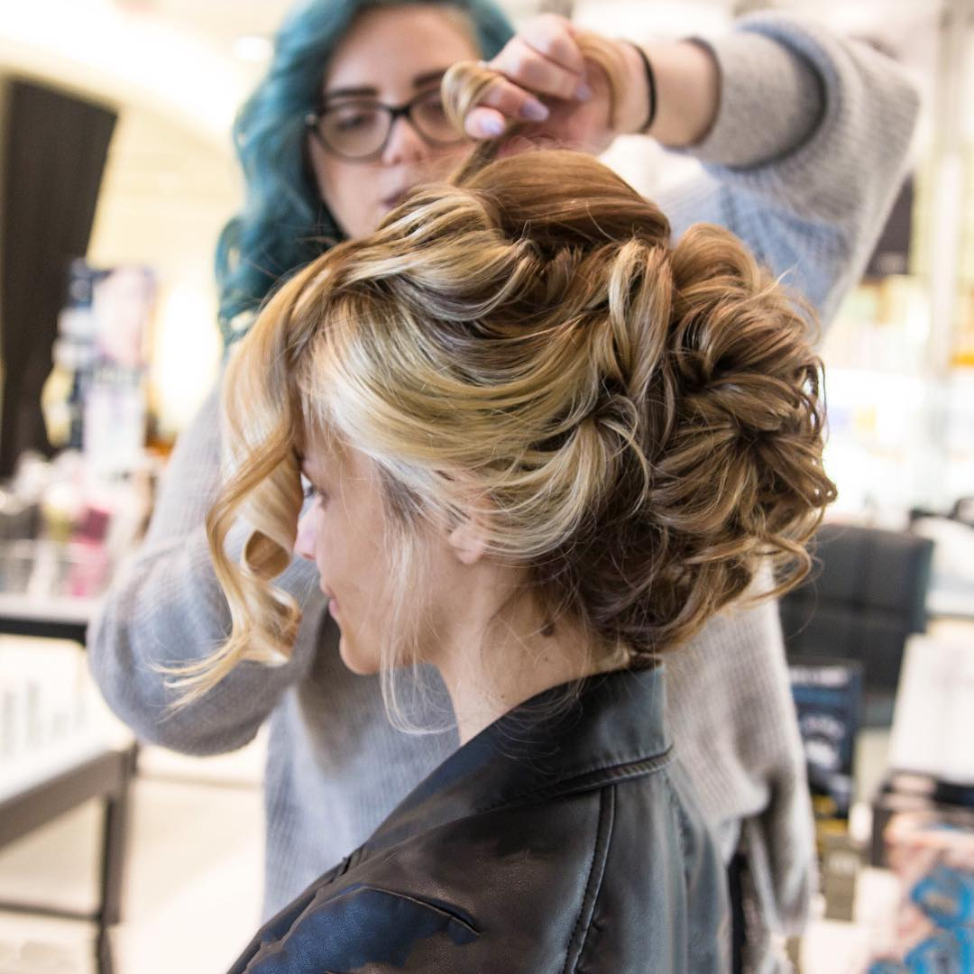 We spent the day at donatosalonspa for all things hairhellip