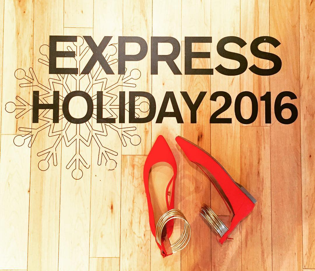 Currently in holiday spirit with express expresslife
