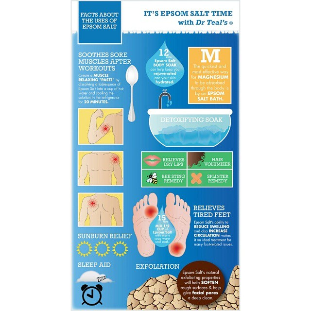 Tips on how to use drteals Epsom salts on todayshellip