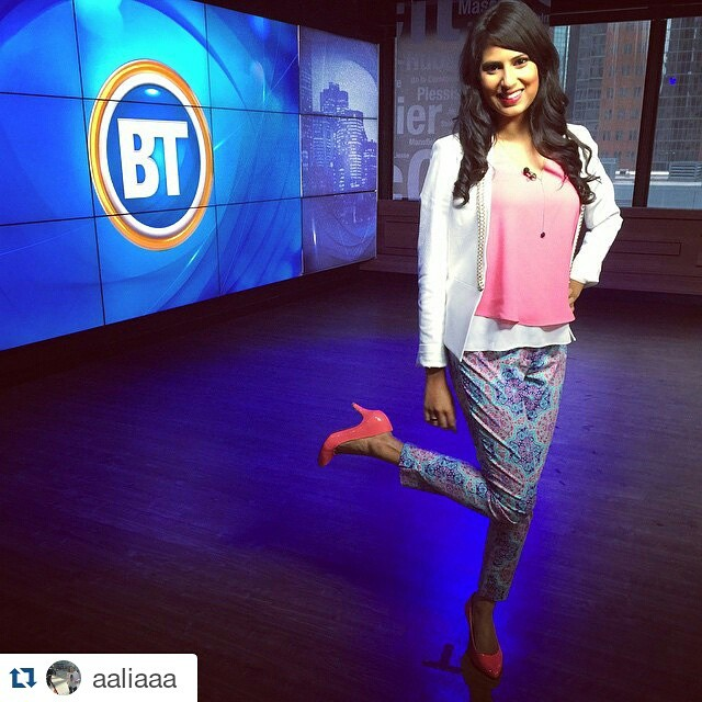 Repost aaliaaa looking gorgeous in tristanstyle on pinkday fashion hellip