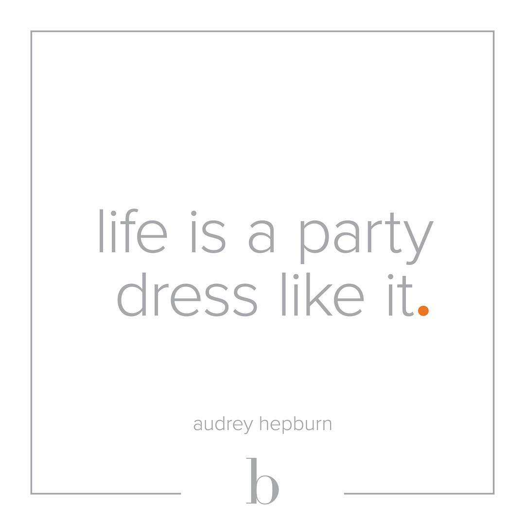 Heading into the weekend with words of wisdom from Audreyhellip
