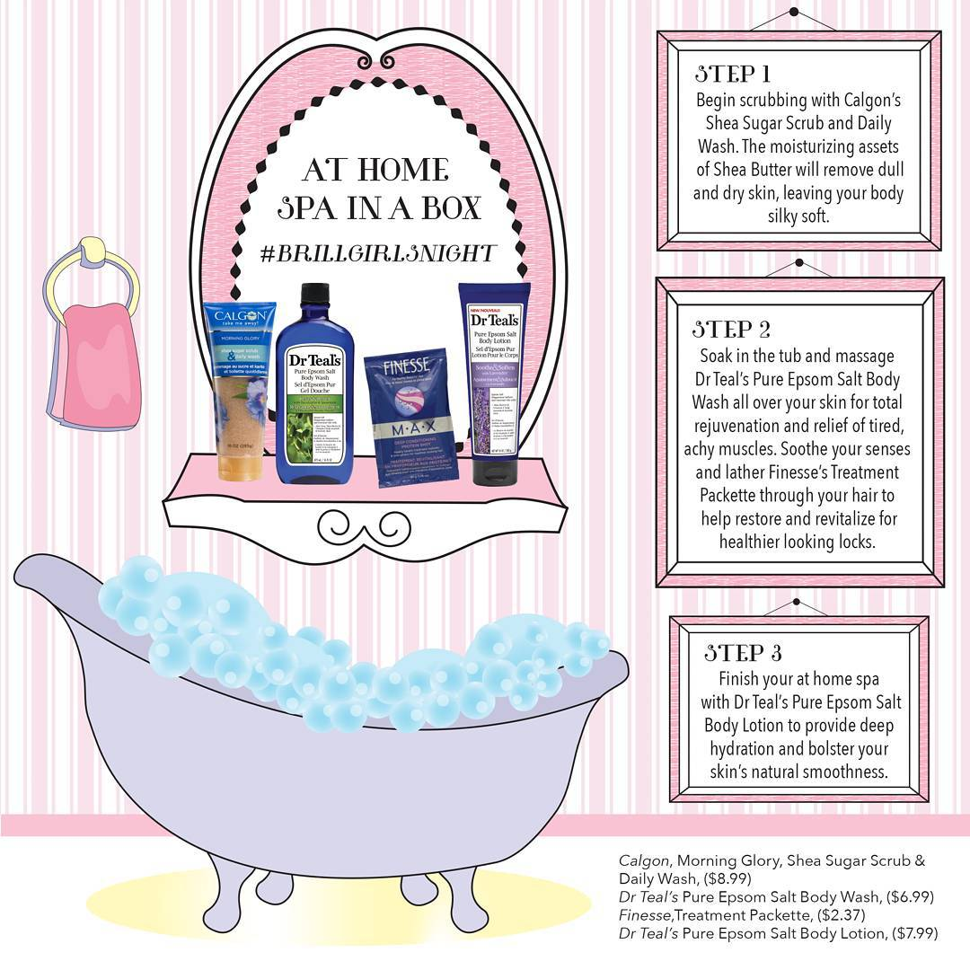 Unwind with some rejuvenating bath products and a bubblebath Bitly1UfzWKt