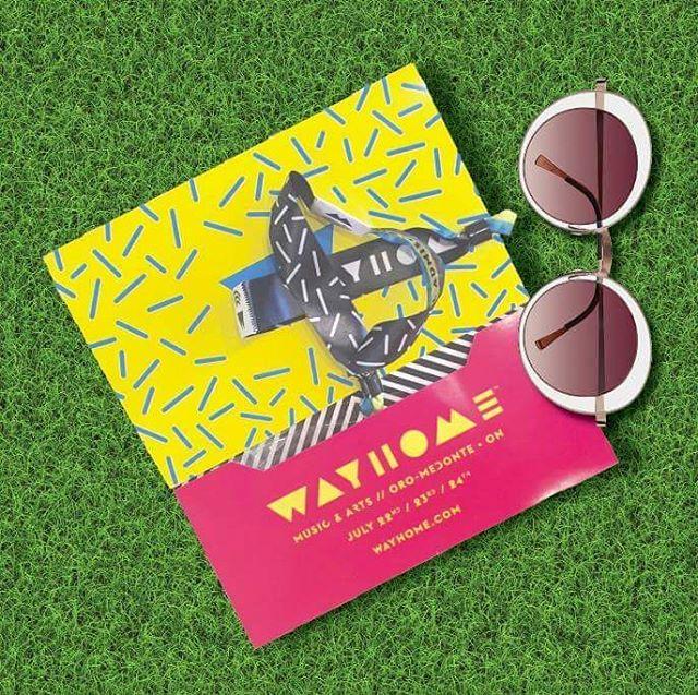Tickets and Sunnies  Hello Wayhome!