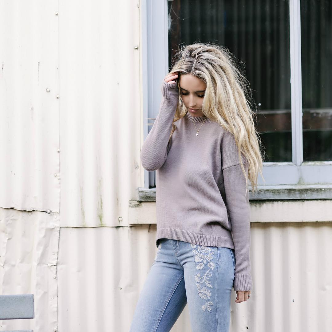 We adore this cozy look from carajourdan styled perfectly inhellip
