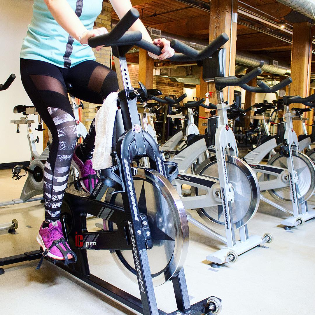 The Brill team started spin classes at cardiogoto! Definitely recommendhellip